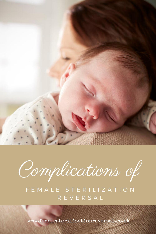 complications of female sterilization reversal